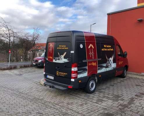 Bäckerei Heislitz Fahrzeugbeklebung