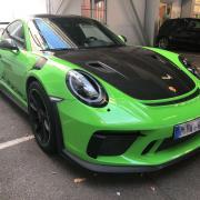 Lackschutzfolie Porsche 911 GT3 RS