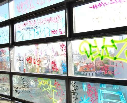 Schutz vor Graffiti