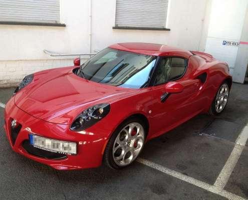 Alfa Romeo C4 Lackschutz