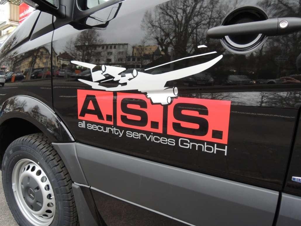 ASS Fahrzeugwerbung