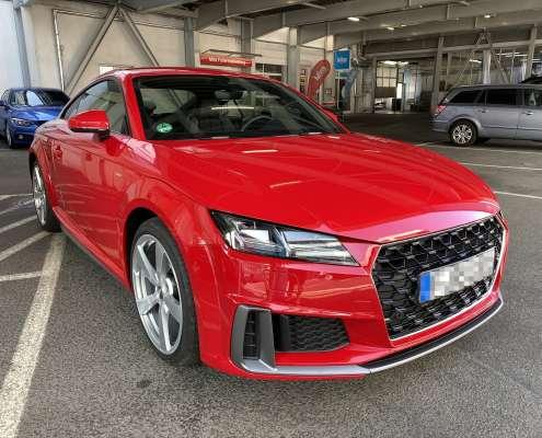 Audi TT Lackschutzfolie glanz und matt (2)