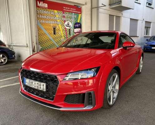 Audi TT Lackschutzfolie glanz und matt (4)