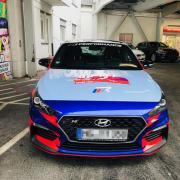 Autofolierung Drift Design Hyundai i35N