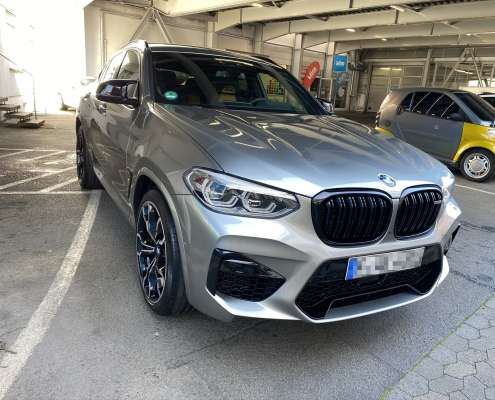 Lackschutzfolie BMW X4M (2)
