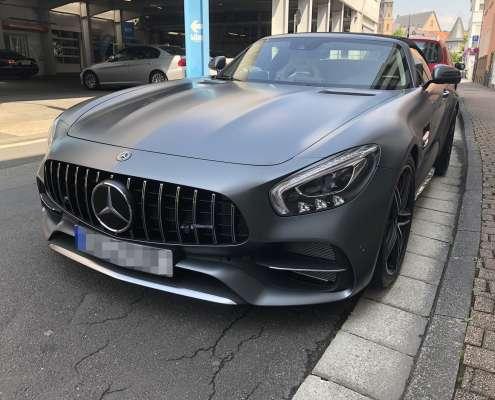 Lackschutzfolie matt Mercedes GT (3)