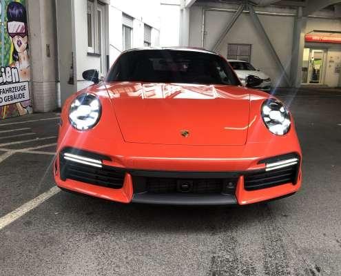 Porsche 911 992 Turbo S Steinschlagschutzfolie (6)