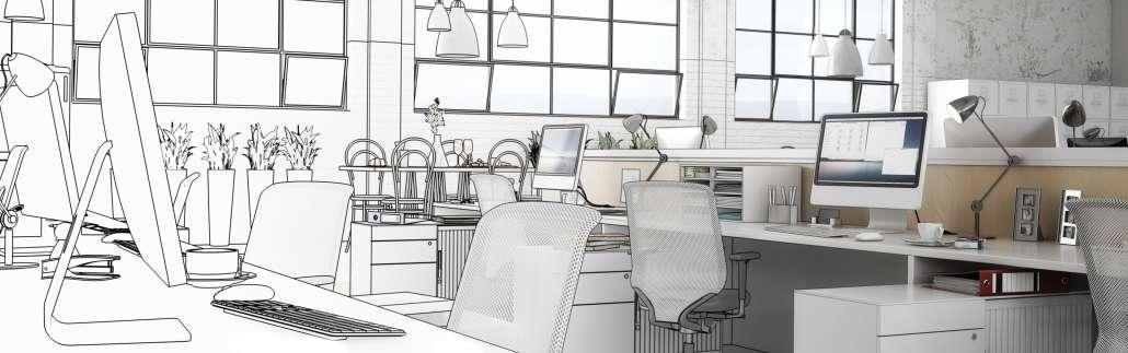 Büro-Entwurf