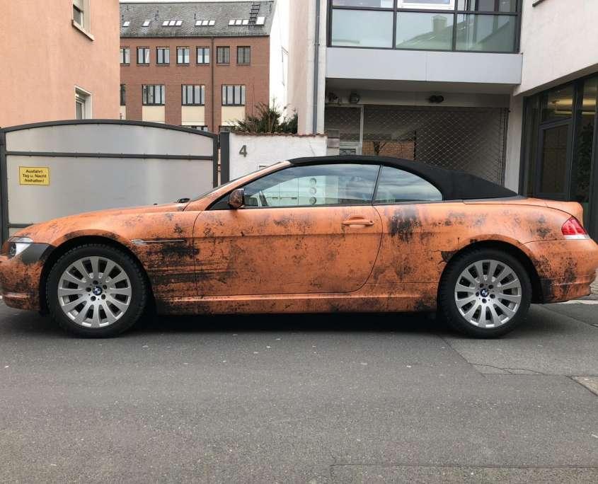 BMW Carwrap