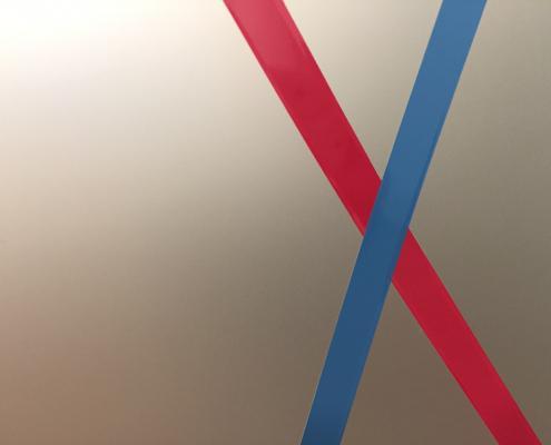 Fenster Klebefolie mit Logo nachher (2)